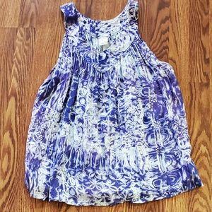 Advance Apparel top Free Size purple